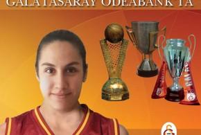 Ayşegül Günay Galatasaray Odeabank'ta
