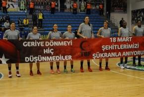 Sarayın Sultanları Fenerbahçe'yi Farklı Yendi
