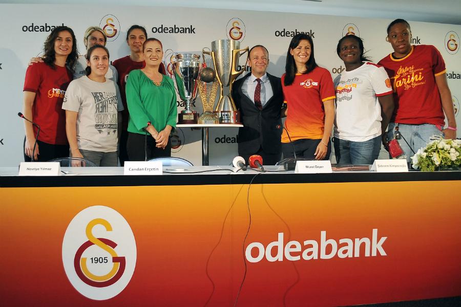 Galatasaray Odeabank Toplu İmza Töreni 2